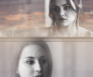 pll, aria montgomery, and spencer hastings image