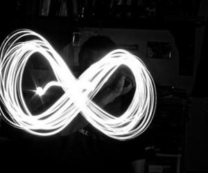 infinite, infinity, and light image