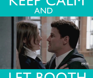 bones, keep calm, and booth image