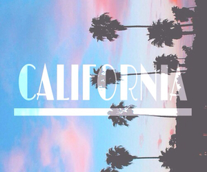 california, summer, and sky image