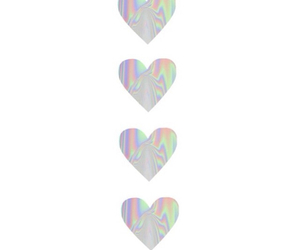 grunge and hearts image