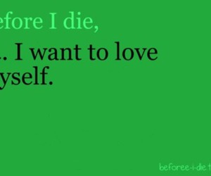 before i die and quote image
