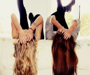 beautiful, blonds, and best friends image