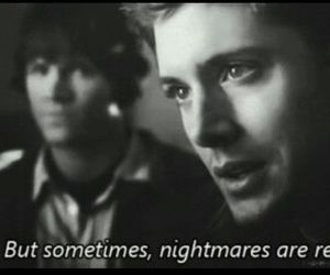 supernatural, dean winchester, and nightmare image