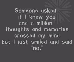 memories, smile, and quote image