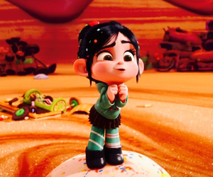 vanellope, cartoon, and wreck it ralph image