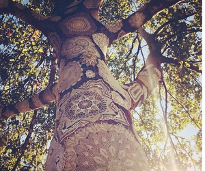 tree, nature, and art image