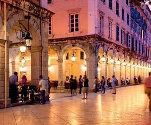 city, corfu, and Greece image