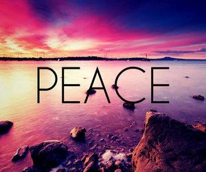 peace and beach image