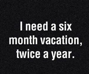 vacation and quote image
