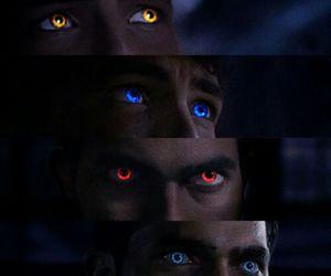 teen wolf, eyes, and derek image
