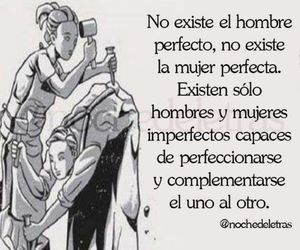 frases, mujer, and hombre image
