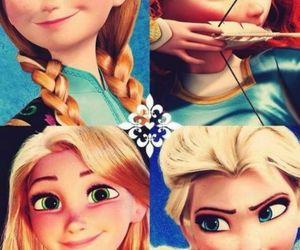 disney, frozen, and rapunzel image