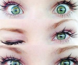 cameron, eyes, and green image