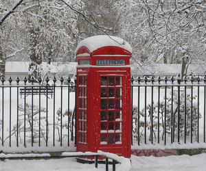 london, telephone, and uk image