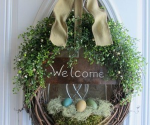 easter, easter decorations, and home decorations image