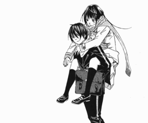 yato, noragami, and couple image