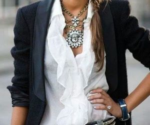 blouse, everyday, and white image