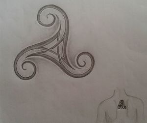 tattoo and triskel image