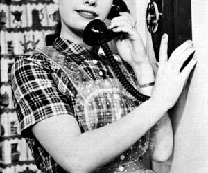 girl and vintage image