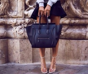 bag, celine, and street style image