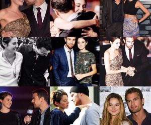 sheo, Shailene Woodley, and theo james image