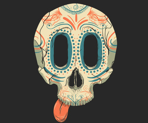 skull and death's-head image