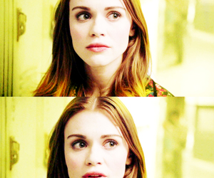 girl, teen wolf, and holland roden image