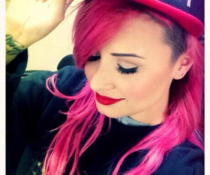beautiful, demi lovato, and neonlightstour image