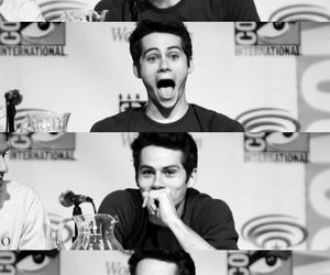 excited, funny, and teen wolf image