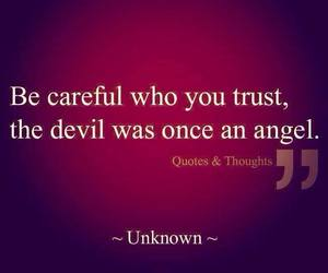 angel, Devil, and quote image