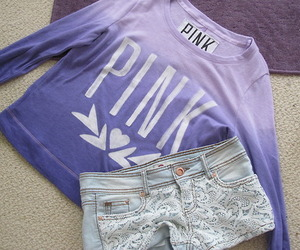 pink, shorts, and clothes image