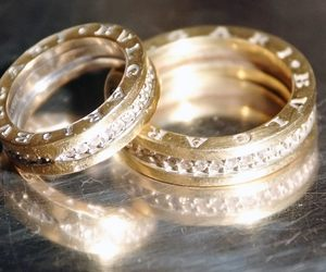 gold, ring, and bvlgari image