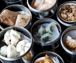 food, dim sum, and chinese image