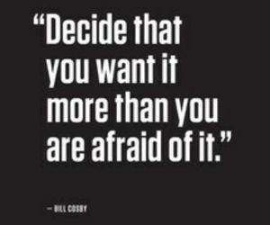afraid, life, and quotes image