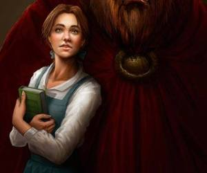 beauty and the beast, disney, and bell image