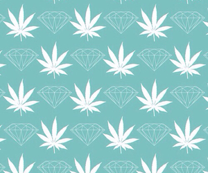 diamond, wallpaper, and weed image