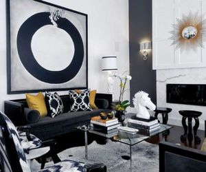 neutral colors, throw pillows, and interior. image
