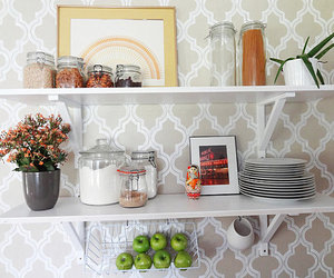 dining table, modern nursery, and kitchen island image