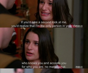 love, glee, and quotes image