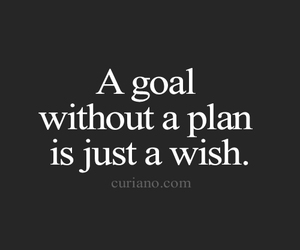 wish, goals, and plan image