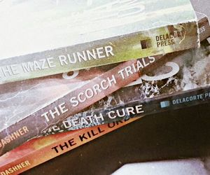header, the maze runner, and the scorch trials image