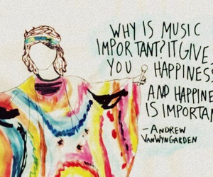 music, happiness, and MGMT image
