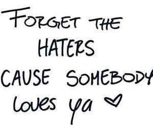love, haters, and miley cyrus image