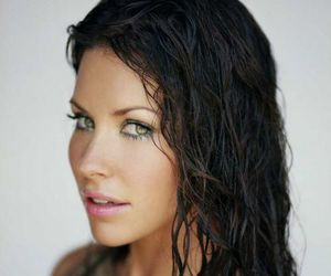 beautiful, evangeline lilly, and eyes image