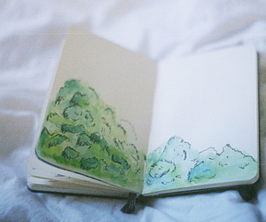 drawing, book, and art image