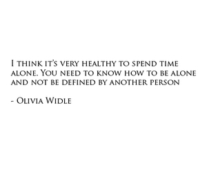 Olivia Wilde and quote image