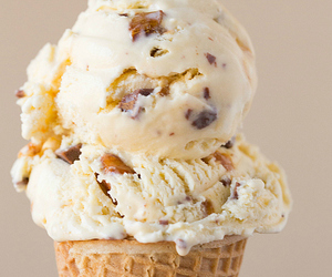 ice cream, food, and dessert image