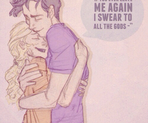 percabeth, cute, and couple image