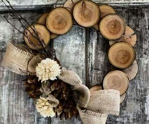 rustic and wreath image